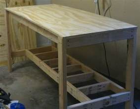 building a workshop wooden garage bench plans pdf woodworking