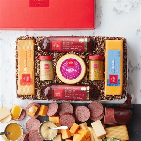 best food gidt sets sausage and cheese gift sets gift ftempo
