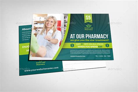 Pharmacy Advertising Bundle By Owpictures Graphicriver Pharmacy Flyer Template