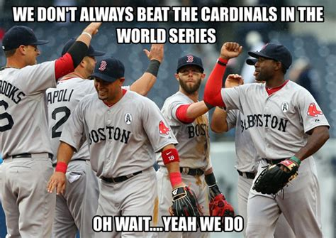 Funny Red Sox Memes - 2013 world series game 1 memes red sox versus cardinals