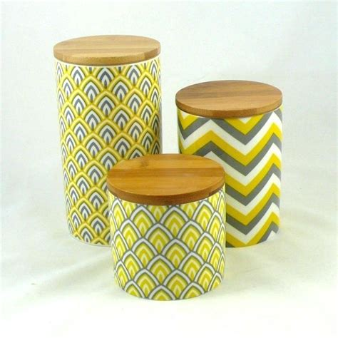 yellow canister sets kitchen yellow kitchen canisters tea coffee sugar jars flour