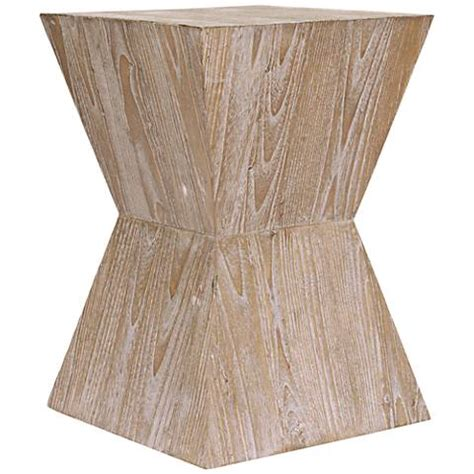 distressed wood side table martil distressed oak wood side table 4m325 ls plus