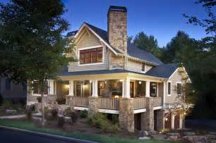 Craftsman House Plans With Wrap Around Porch Craftsman Home Craftsman Exterior Other Metro By Brookstone Builders