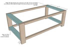 you build it plans coffee table diy plans coffee table design ideas