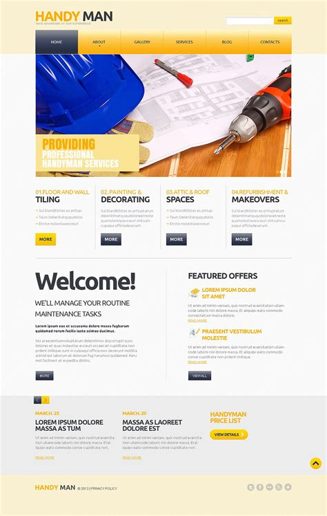 responsive business creative joomla template wt priv maintenance services responsive joomla template 47116 by