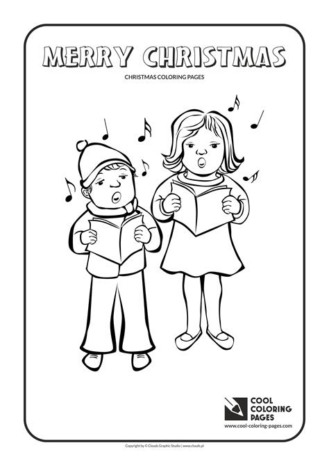 coloring page christmas carolers cool coloring pages christmas coloring pages cool