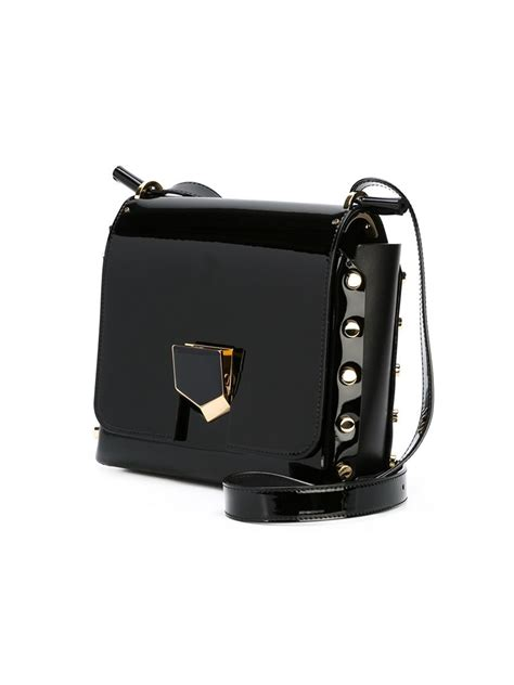 Bag Jimmy Choo Kaos jimmy choo lockett cross bag in black lyst