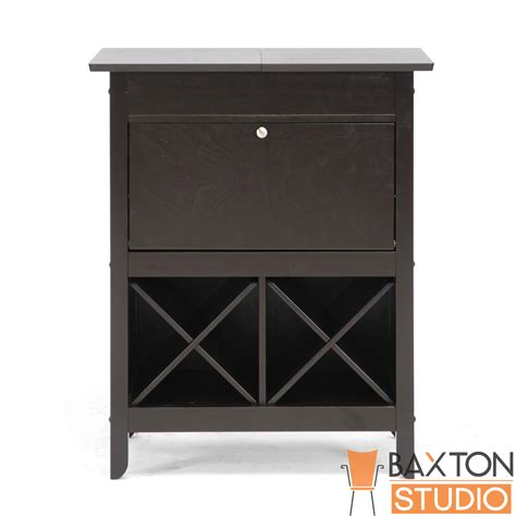 Dry Bar Email Gift Card - baxton studio tuscany brown modern dry bar and wine cabinet