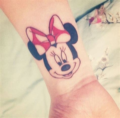 minimalist disney tattoo minnie mouse head tattoos www pixshark com images
