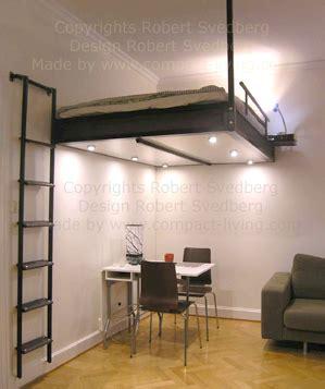 www living svart loftis i bredden 140 cm ett snyggt sovloft blir det