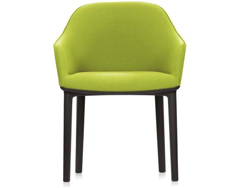 softshell chair with four leg base hivemodern