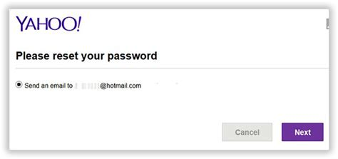 email yahoo password reset forgot yahoo mail password how to recover reset