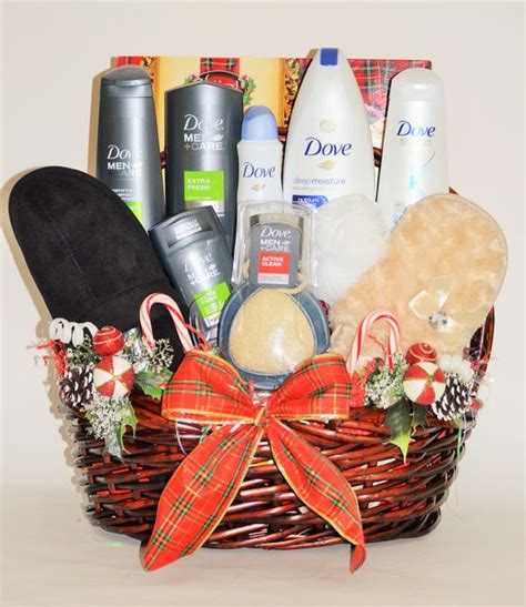 gifts for and his and hers dove spa gift basket business