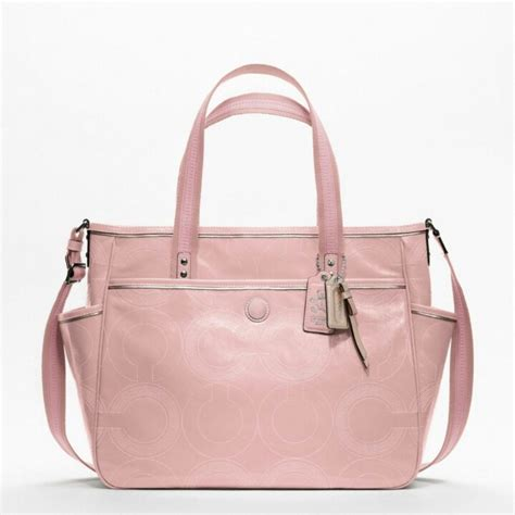 couch diaper bags light pink coach diaper bag