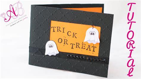 tutorial carding di ebay diy tutorial card di halloween youtube