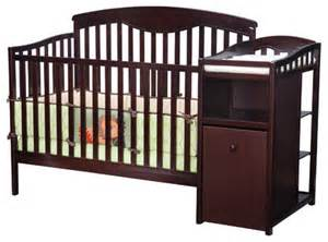 All In One Crib And Changing Table Shelby 4 In 1 Convertible Crib And Changer Modern Changing Tables By Wayfair