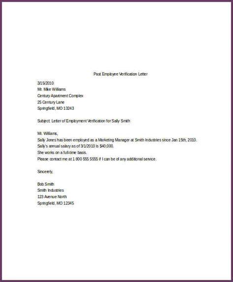 Parent Verification Letter Employee Verification Letter Cvsleform
