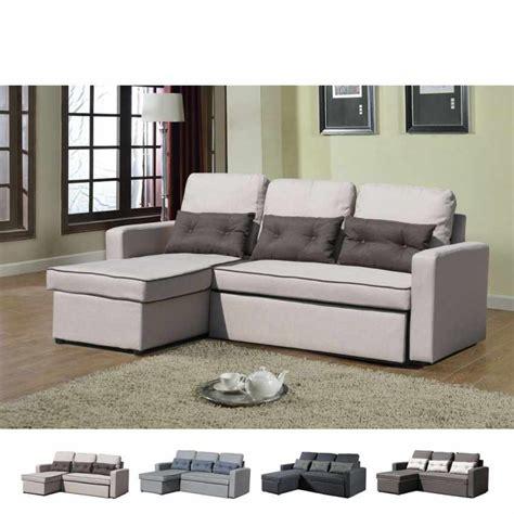divani letto con penisola divano letto con penisola ad angolo modulare 3 posti