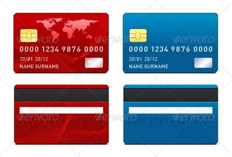bfgi bank credit card template vector credit card template by sermax55 graphicriver