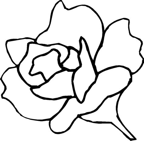 traceable flower patterns clipart best
