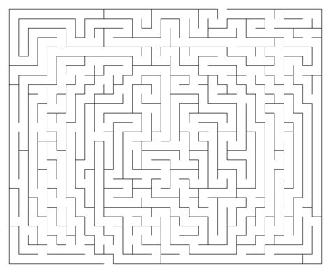 printable maze creator maze maker free software dowloads how to