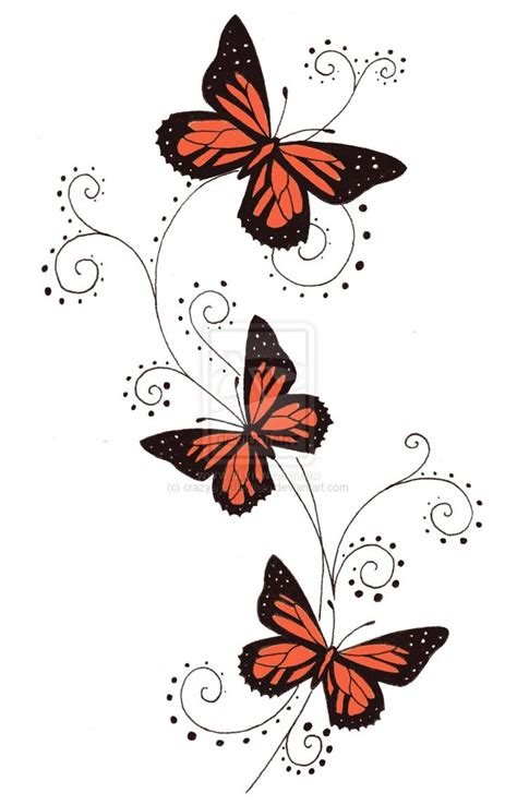 free butterfly tattoo designs butterfly tattoos butterfly designs free