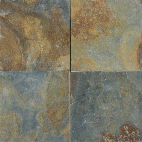 china multicolor solid cleft square slate 12x12 flooring tile