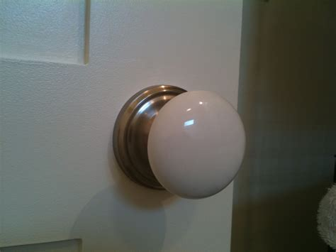 Porcelain Interior Door Knobs by The Jerome Project A Few Details