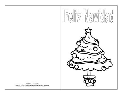 dibujos para tarjetas de navidad para ni241os dibujos navide 241 os para colorear descarga gratis