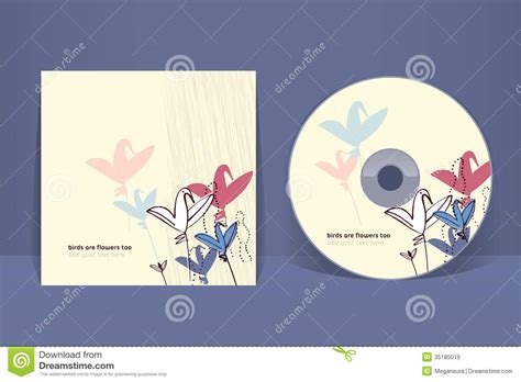 free cd cover design template cd cover design template royalty free stock images image