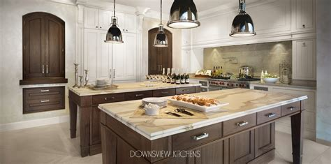 kitchen with 2 islands tale of two islands downsview kitchens and custom