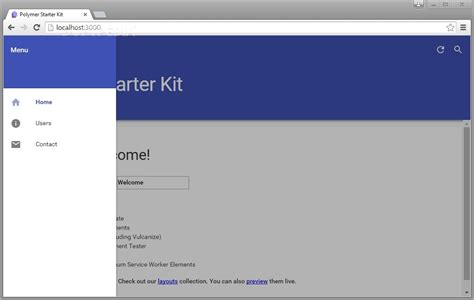 tutorial web starter kit google releases polymer 1 0 a library for the modern web