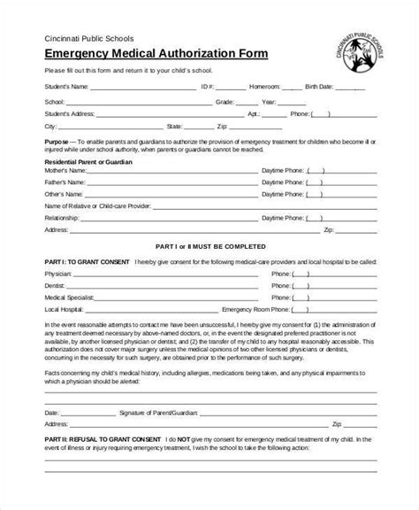 blank medical forms 35 free documents in word pdf