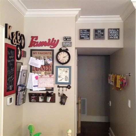 Home Decorating Rules Family Command Center Family Command Center Pinterest