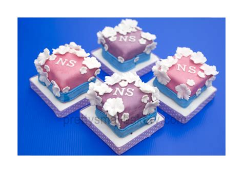 Banner Hbd Minni Kotak Baru kek hantaran kahwin mini cake prettysmallbakery