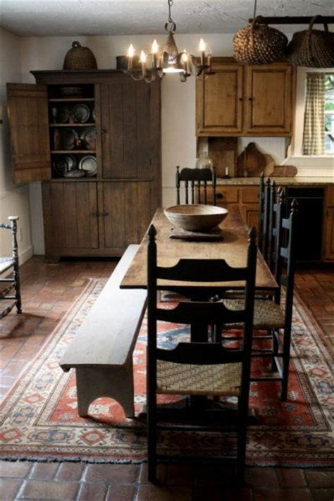 primitive kitchen furniture 614 best images about primitive colonial interiors on