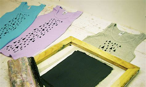 how to screen print t shirts at home and style