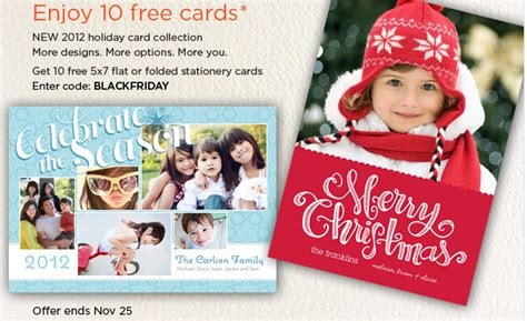 Where Can You Buy A Shutterfly Gift Card - shutterfly 10 free holiday cards southern savers