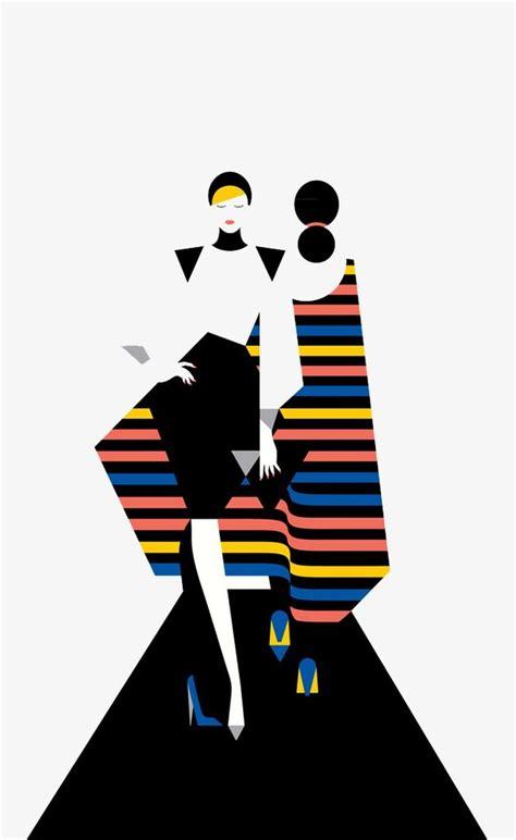 fashion show fashion clipart  station cartoon model