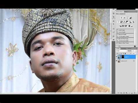 Tutorial Edit Gambar Perkahwinan | edit gambar perkahwinan mp4 youtube