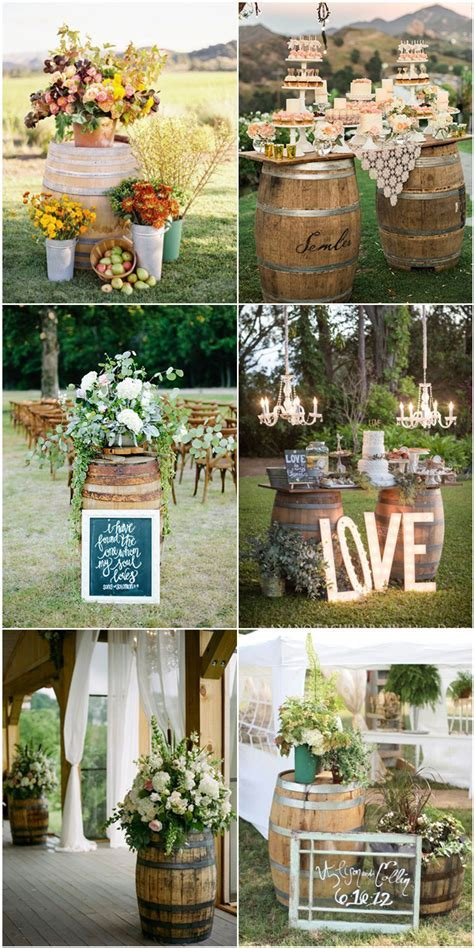 Top 5 Rustic / Bohemian Chic Wedding Color Palettes We