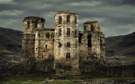 hd castle ruins wallpaper