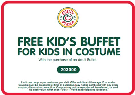 Pin The Buffest Kid In World On Pinterest Cici S Buffet Price