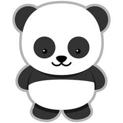 panda print outs panda