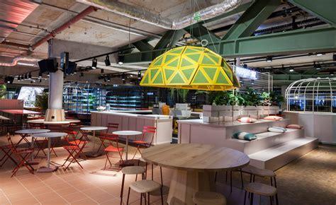 Studio Aislinger's Kantini designer food court in Berlin