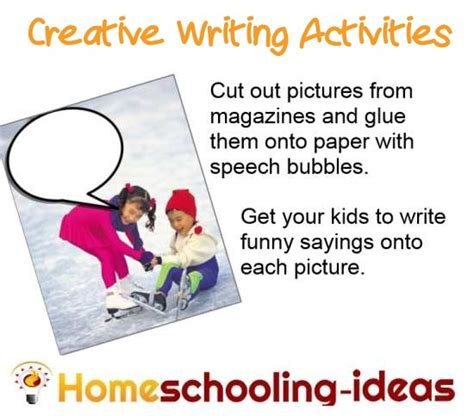 ideas for ks2 creative writing creative writing activities for kids