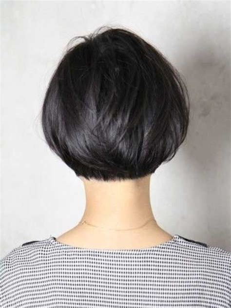 shorter hair in the back in yhe back longer on the front pics 25 trendy short textured haircuts to try bobs bob hairs