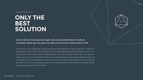 Theon Minimal Creative Keynote Template By Slidehack Graphicriver Theon Keynote Template