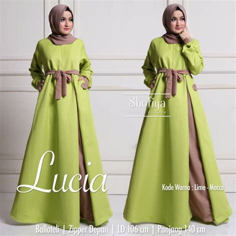 Lucia Dress By Shofiya by Jual Lucia Original By Shofiya Baru Gaun Dress Wanita