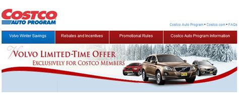 lehman volvo cars costco member save  green
